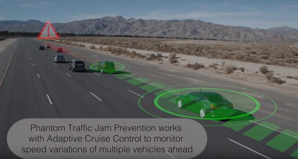 سیستم ایمنی ترافیک هوندا