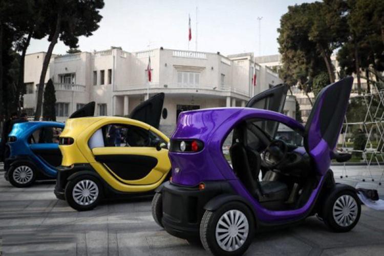 اولین خودروی برقی ایران